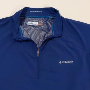 Blue Columbia XL Omni-Heat Pullover